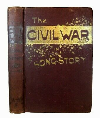 CIVIL WAR U.S. Military 1889 Soldier Army Navy Union Confederate Lincoln Slavery