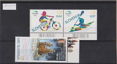 Slovenia 2016 issues MNH Per Scans