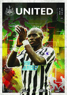 Newcastle United V Manchester City-Official Programme- Wednesday 30Th January 20
