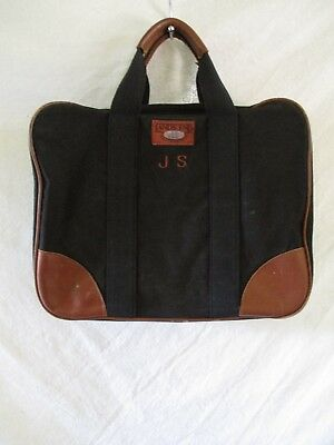 """f87ce2be6a24 Lands End Deluxe Squarerigger soft travel overnight weekend carry on bag 18"""""""
