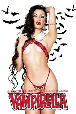 VAMPIRELLA #10, COVER C COSPLAY, New, First print, Dynamite (2018)