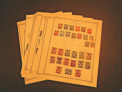 POLAND GERMAN OCCUPATION & SEMI POSTAL STAMPS in PAGES