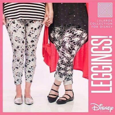 TC /& Kids L//XL Leggings LuLaRoe Collection For Disney MYSTERY Adult OS