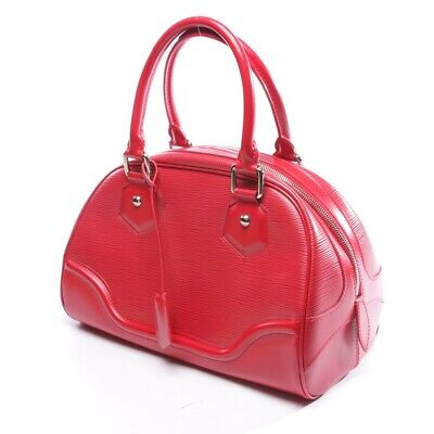 Louis Vuitton Borsa Rosso Donna Borsa Borsa Montaigne Pm Data Borsa a Tracolla