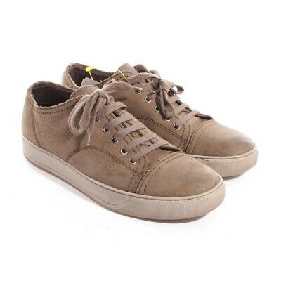 c319285b9fb LANVIN TRAINERS SIZE D 39 UK 5 Brown Mens Shoes Sneakers Trainers ...