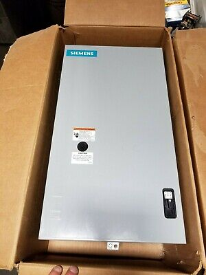 New Siemens 20 Amp Mechanically Held Lighting & Heating Contactor Clm1B03120