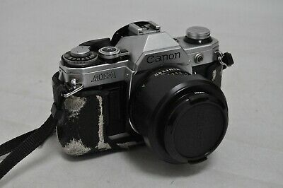 Canon AE-1 35mm SLR Film Camera with FD 24mm F2.8 Lens (FEB137)