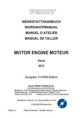 deutz fahr k 90 100 110 120 front axle agrotron tractor workshop service repair manual download