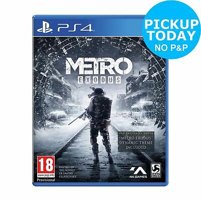 Metro Exodus Sony Playstation PS4 Game 18+ Years
