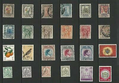 y7654 Libia /  Liban / Libya  / A Small Collection of Modern Lhm & Used