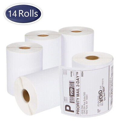 14 Rolls DYMO 4XL Direct Thermal Shipping Labels 4x6 1744907 Compatible 220/Roll