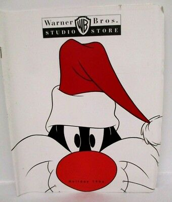 VINTAGE CATALOG: WARNER BROS. STUDIO STORE Holiday 1994 Looney Tunes