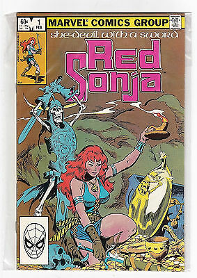 Red Sonja 1 VFNM V2 1983 Marvel Comics Book Sealed Polybag John Buscema Cover