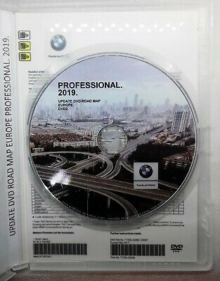 BMW Navigation Navi Road Map Europe PROFESSIONAL 2019 +Blitzer Edition DVD2 MAP2