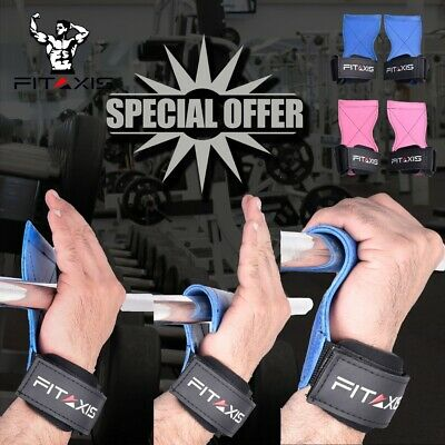 Weight lifting CrossFit Xfit  DeadLift Shoulder Pulling  Grip Strap hooks