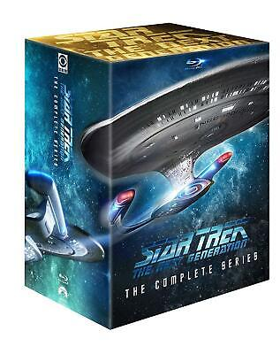 New In Box! STAR TREK The Next Generation BLU-RAY Complete Series 1-7
