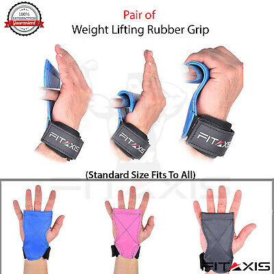 CrossFit Weight lifting Grips Xfit DeadLift Shoulder Pulling  Grip Strap hooks