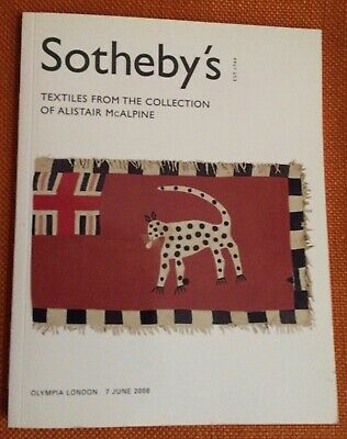 SOTHEBY'S Textiles Collection of Alistair McAlpine Collection Auction Catalog