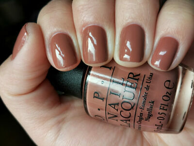 Opi Chocolate Moose Warm Sweet Candy Brown Tan Creme Nail Polish