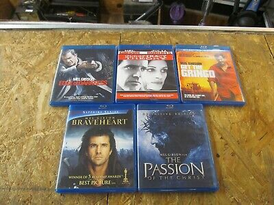 5 - MEL GIBSON --- BLU RAY Collection Set       (Lot 9471)