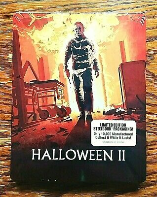 Halloween II 2 Steelbook Blu-ray NEW Sealed Limited Edition 2 Disc Scream