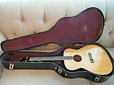 Vintage Harmony Acoustic Tenor Guitar * Repair Project * Must See! No Reserve!