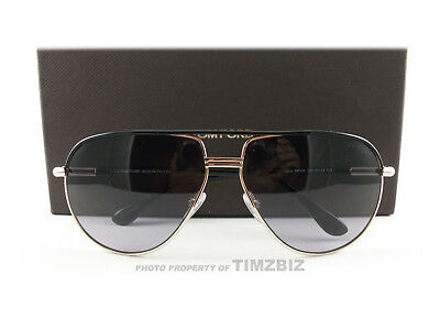 3b426ed7a1ffa New Tom Ford Sunglasses TF285 Cole 01B Gold Black FT0285 S Authentic