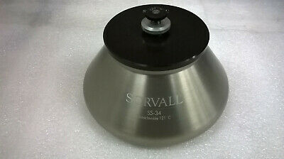 Sorvall SS-34 Autoclavable  121° C Rotor with Lid