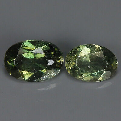 0.43 Ct Natural Unheated Greenish Yellow KORNERUPINE Oval Gem @ See Vide!