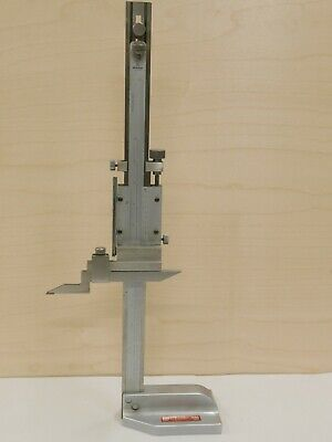"MITUTOYO 12"" HEIGHT GAGE gauge machinist toolmaker tools"