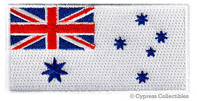 Australian Navy Jack Flag Patch Military Emblem Embroidered Insignia Australia