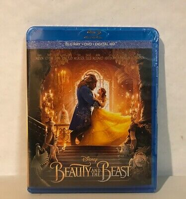 Disney Beauty and the Beast Blu Ray DVD Digital HD New