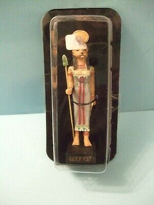 Ancient Egypt Egyptian God  figurines resin statue SEKHMET size 5in by HACHETTE