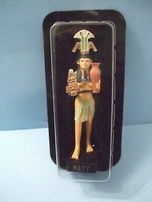 Ancient Egypt Egyptian God  figurines resin statue HAPY size 5in by HACHETTE