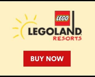 Four (4) Legoland California 1 Day Tickets WithSea Life Hooper 2 Adult & 2 Child