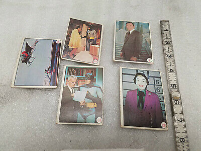 Topps Trading Collector Cards Batman Tv Series Lot Vintage 1966
