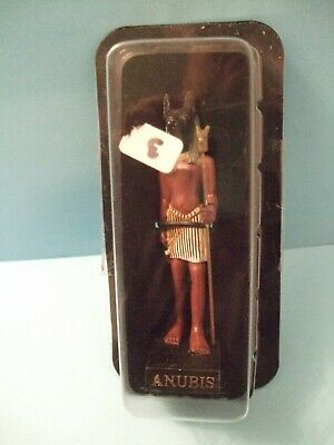 Ancient Egypt Egyptian God  figurines resin statue ANUBIS  by HACHETTE