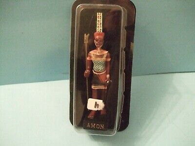 Ancient Egypt Egyptian God  figurines resin statue AMON  by HACHETTE