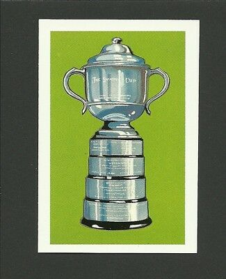 Table Tennis Swaythling Cup Ping Pong 1979 Colgate Sport Trophy Card MINT