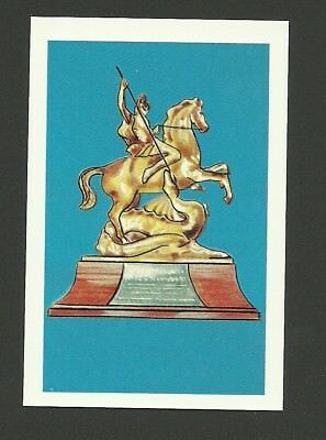 Horse Show Jumping King George V Gold Cup 1979 Colgate Sport Trophy Card MINT