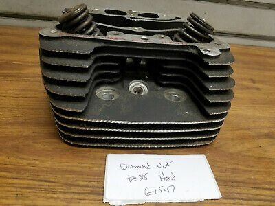 Diamond Cut Cylinder Head Harley Twin cam 88 Front Softail Touring Dyna TC88