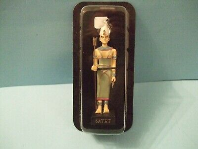 Ancient Egypt Egyptian God  figurines resin statue SATET by HACHETTE