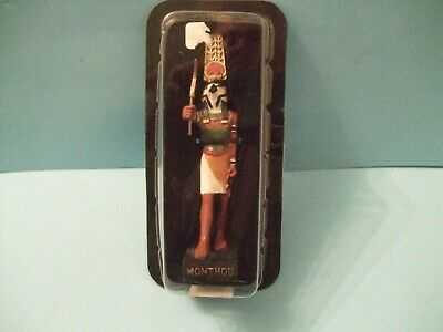 Ancient Egypt Egyptian God figurines resin statue MONTHOU  by HACHETTE