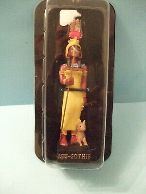 Ancient Egypt Egyptian God  figurines resin statue ISIS-SOTHIS by HACHETTE