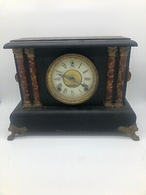 Sessions Antique Made In Usa Mantel Clock