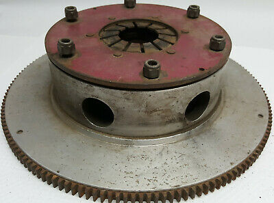 Early Ram Hi Perf 6 1/4 inch triple clutch and flywheel assembly / Chevrolet V8
