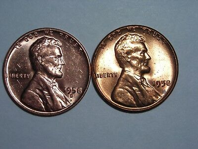 1958 D Wheat Penny Value