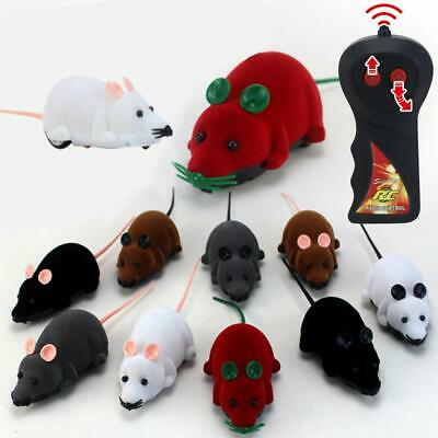 Remote Control Wireless Simulation Electric Mouse Toy Pets Cats Game