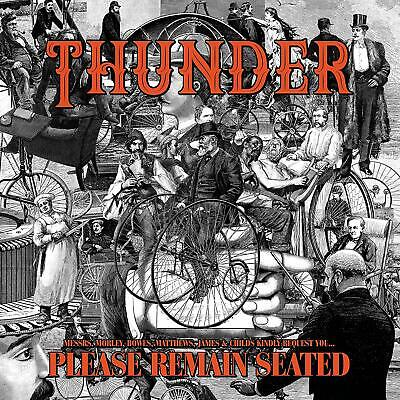 Thunder - Please Remain Seated (Limited Colored Edition)  2 Vinyl Lp Neuf
