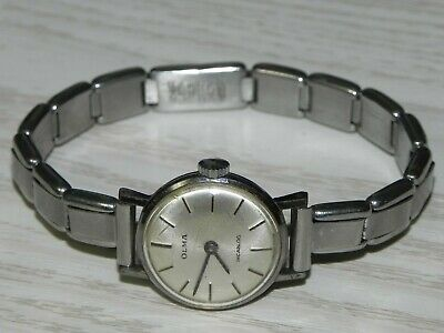 Vintage Olma Incabloc Ladies Watch Wind Up Working Swiss Made